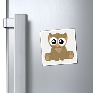 Cute Kawaii Owlbear D&D Magnet | Dungeons and Dragons Pathfinder Tabletop RPG