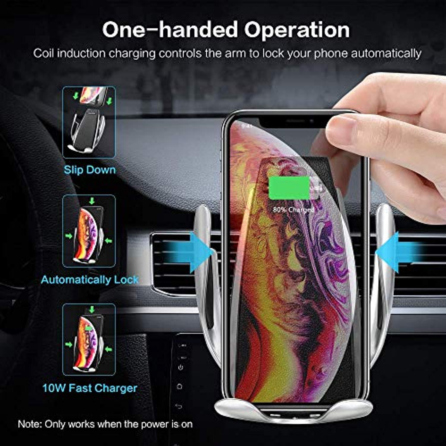 Smart Power Premium Wireless Car Charger