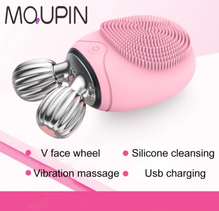 Newest Deep Cleanning Face  Brush V Shape Massager