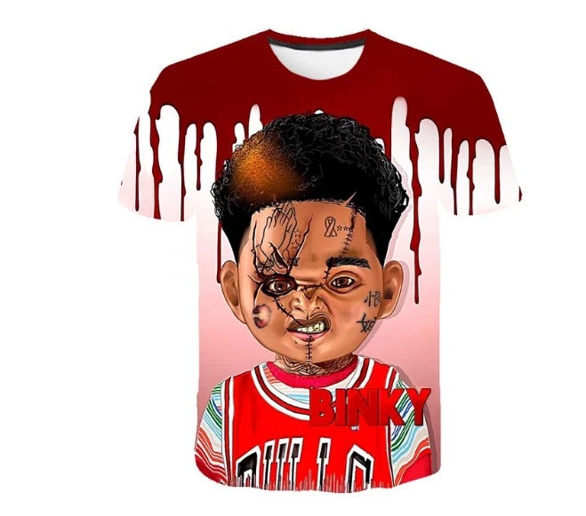 The 2019 Newest Chucky Doll Halloween Shirt For Man/Women