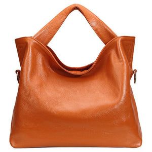Casual Leather Crossbody Handbag Shopper Tote