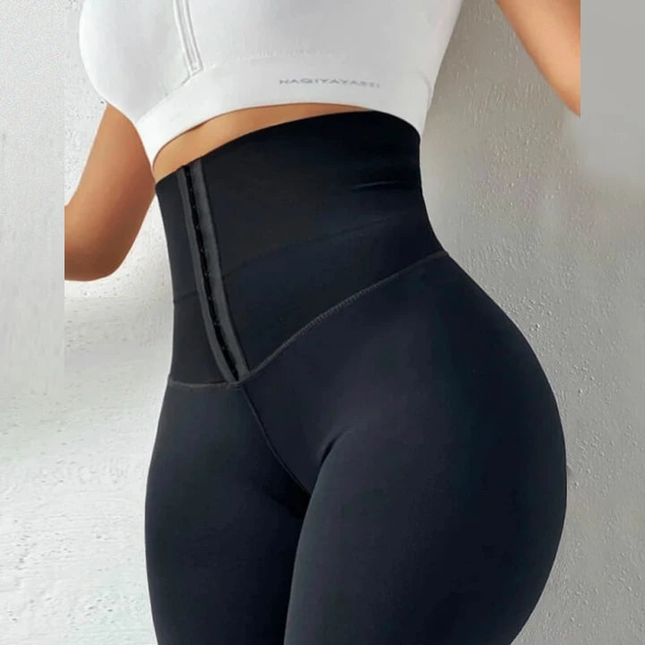 【BUY 3 GET 1 FREE】Body Shaping Waist Cincher Leggings