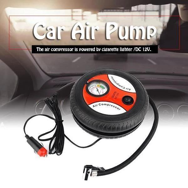 【Get ready in 3 minutes】Car Air Pump -Don't be afraid if there is No repair stations nearby!!