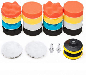 Polishing Pad Kit for Auto Car Removes Scratches