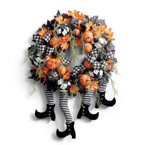 Witch Legs Wreath