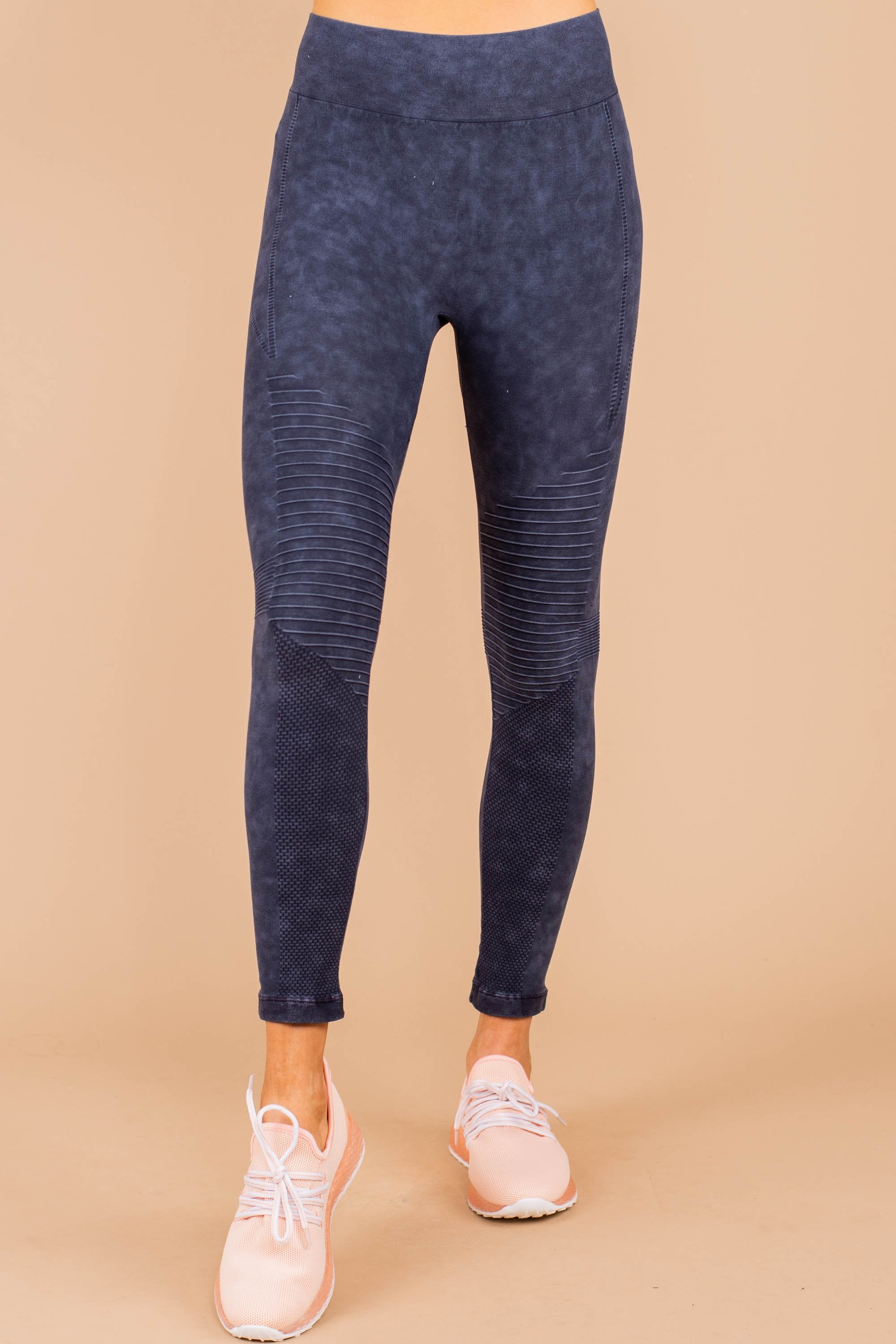 leggings, bottoms, pants, fall, winter, ankle length, trendy, denim, blue, shopping, everyday, activewear, light, nylon, lycra, no lining, neutral