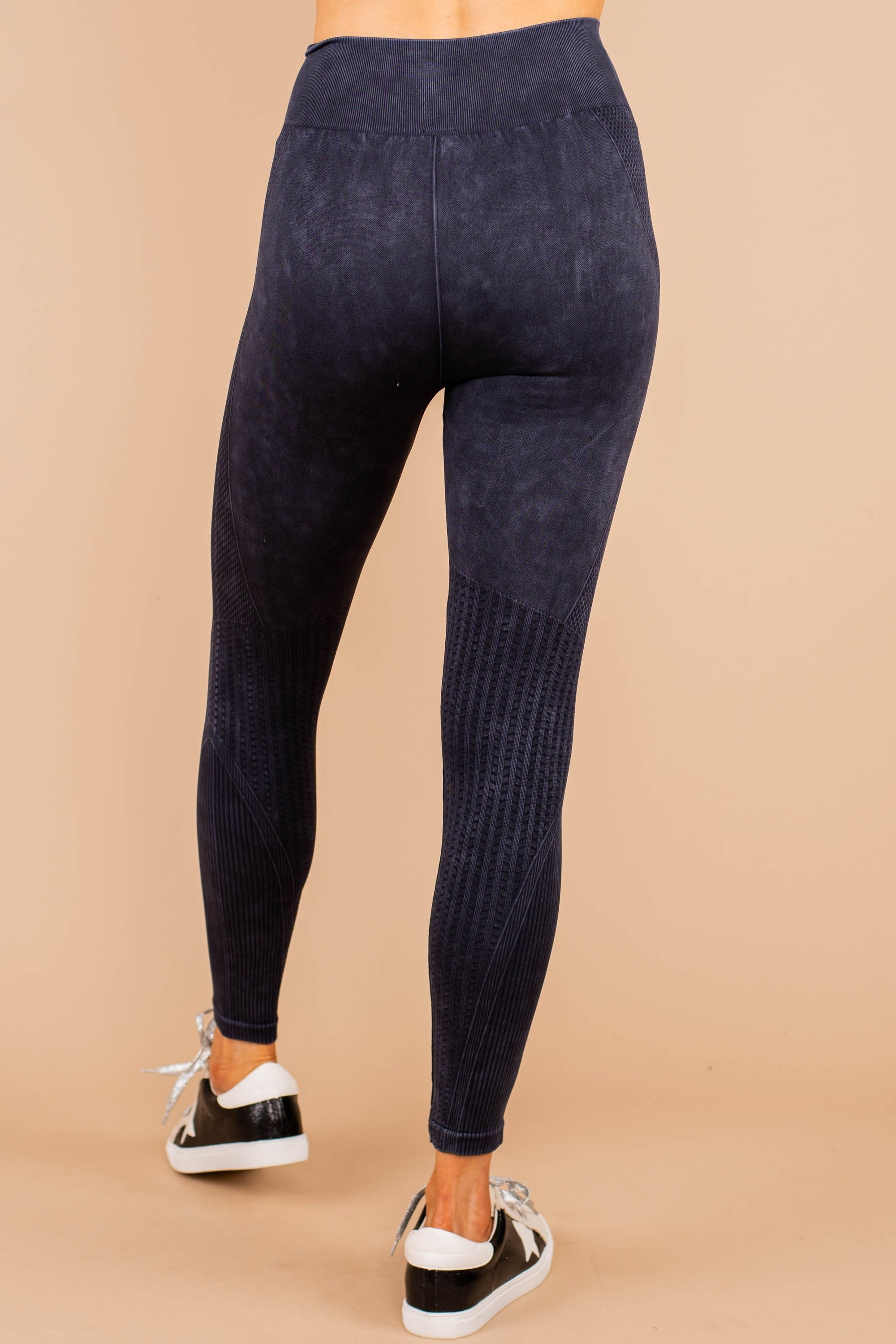 black ribbed leggings, leggings, comfy, black, stone wash, high rise