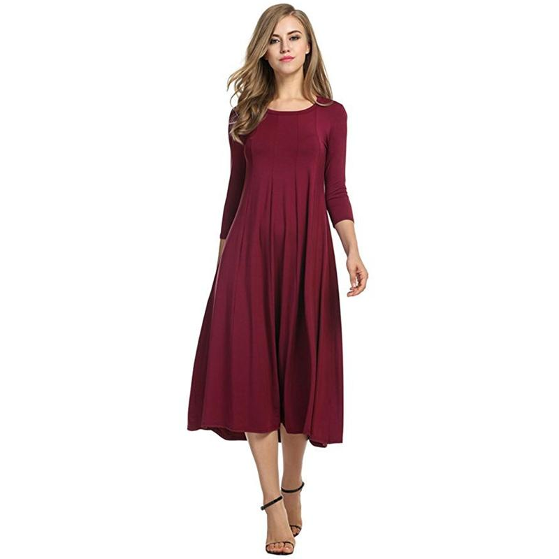 Sleeveless Pocket Casual Dress