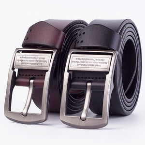 Men's Fashion Casual Leather Jeans Belt