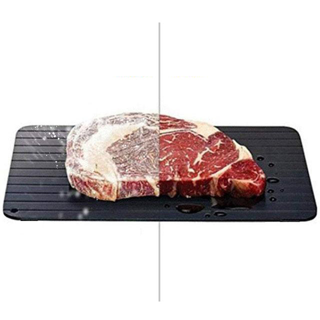 Fast Defrosting Tray Thaw Frozen Food Meat Fruit Quick Defrosting Plate Board