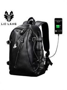 2019 New Fashion Man Backpack with USB Charge