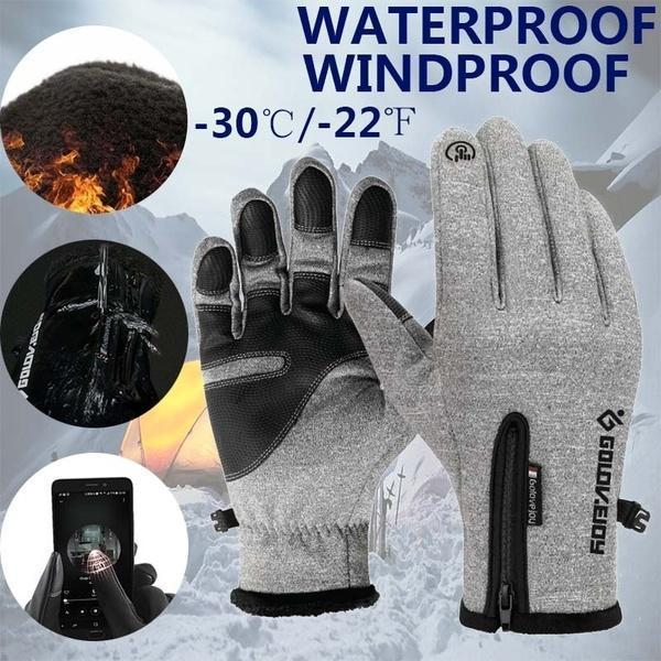 Winter Warm Waterproof Touch Screen Gloves