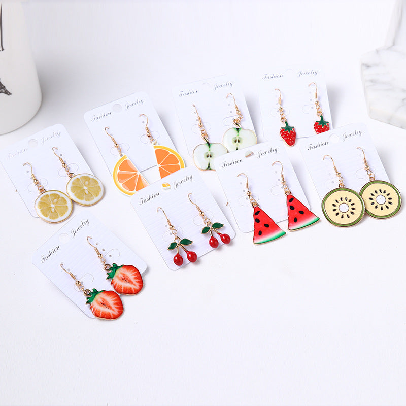 Korea Fruit Earrings