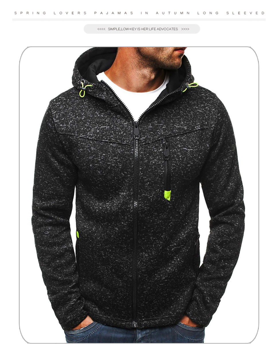 BUY 2 SAVE 10% OFF - Men Fashion Jacquard Hoodies