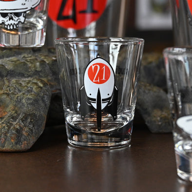 Las Vegas Bomb Shot Glass