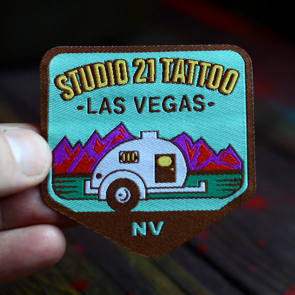 Vintage Style Camper Patch