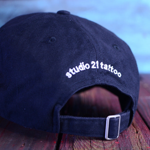 "Studio 21 Tattoo Black ""Dad hat"""
