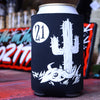 Studio 21 Tattoo Cactus Beer Koozie