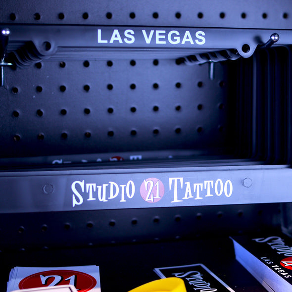 Studio 21 Tattoo License Plate Frames