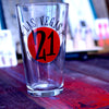 Studio 21 Tattoo Pint Glass