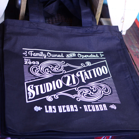 Studio 21 Tattoo Tote Bag
