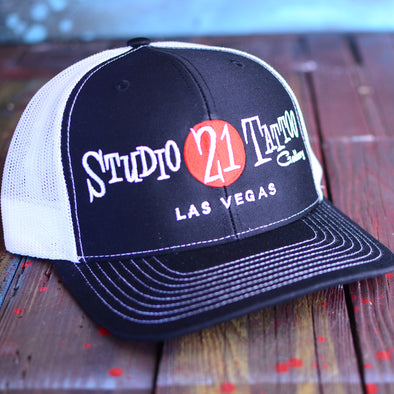 Studio 21 Tattoo Netback Trucker Hat