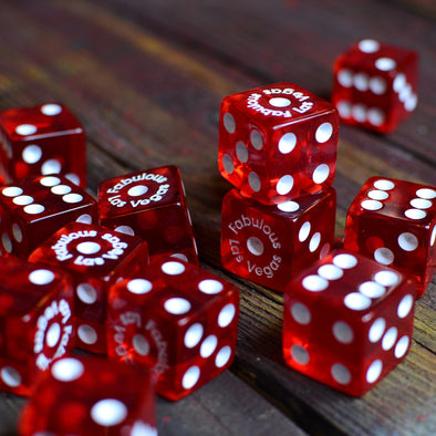 Red Translucent Dice
