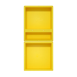 "Recessed Shower Niche Triple Shower Shelves 36""x16"" Ready Tile for Bathroom Niche Storage"