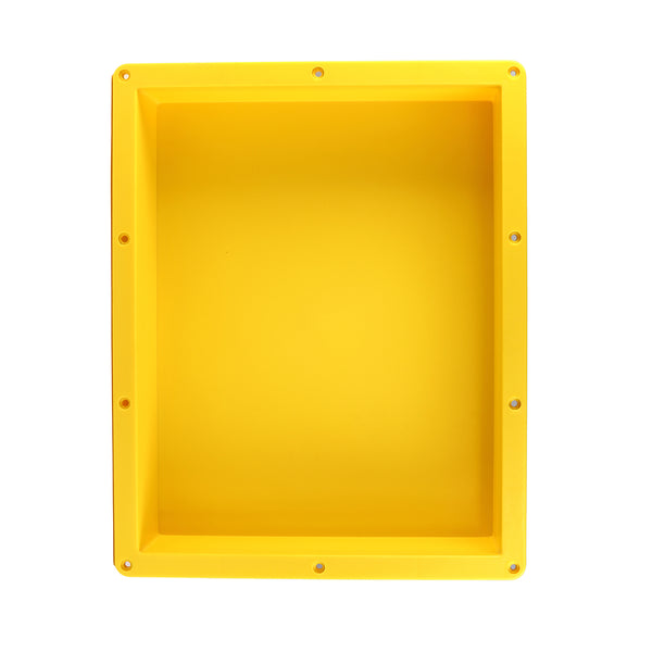 16''×20'' Rectangle Yellow Shower Niche Tile Ready Niche UGRN1620
