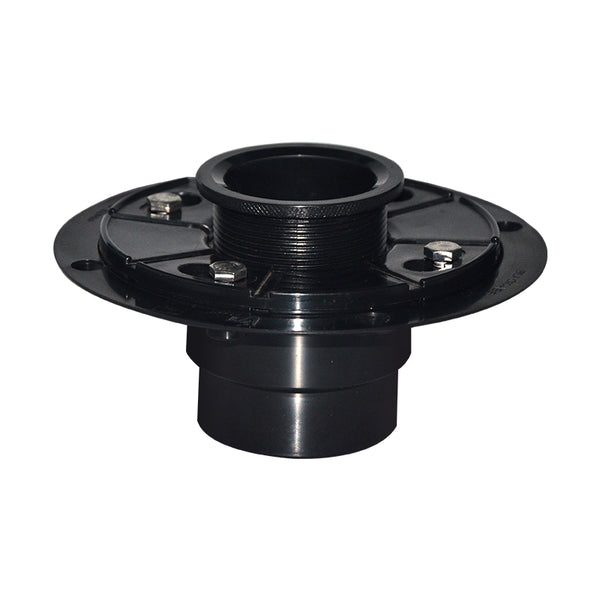 ABS Shower Drain Base With Adjustable Ring for Linear Drain UGDB002-ABS