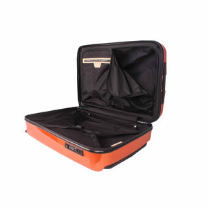 Hontus CASO DUO 28 Inches Hardside Spinner Luggage Glossy Orange