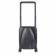 Load image into Gallery viewer, Hontus CASO UNO 20 Inches Hardside Spinner Carry-On Luggage Twill Black