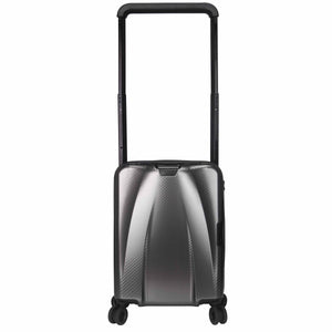 Hontus CASO TRE 20 Inches Hardside Spinner Carry-On Luggage Carbon Gun Metal