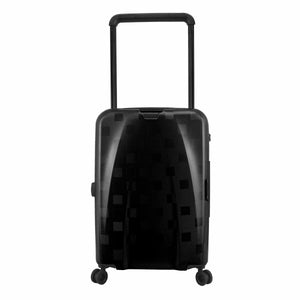 Hontus CASO QUATTRO 24 Inches Hardside Spinner Luggage Plaid Black