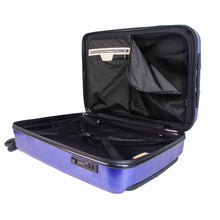 Load image into Gallery viewer, Hontus CASO QUATTRO 24 Inches Hardside Spinner Luggage Plaid Blue