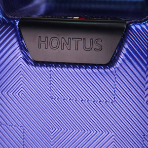 Hontus CASO QUATTRO 28 Inches Hardside Spinner Luggage Plaid Blue