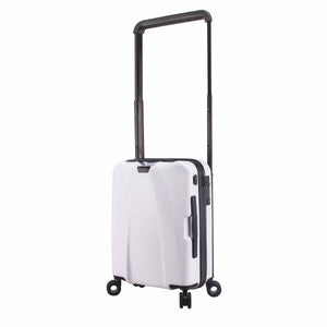 Hontus CASO UNO 20 Inches Hardside Spinner Luggage Twill White