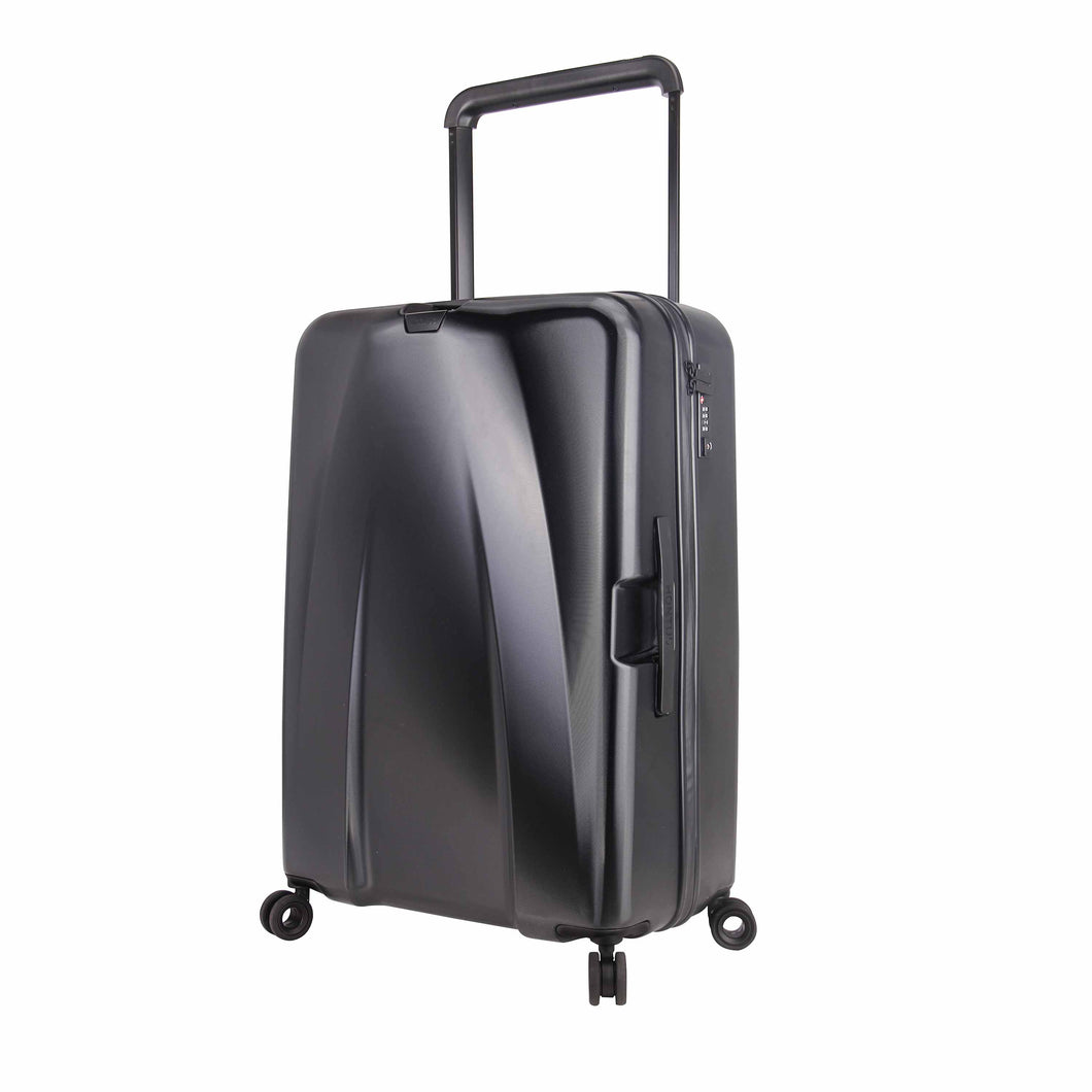 Hontus CASO UNO 28 Inches Hardside Spinner Luggage Twill Black