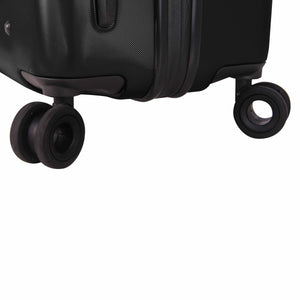Hontus CASO UNO 20 Inches Hardside Spinner Carry-On Luggage Twill Black