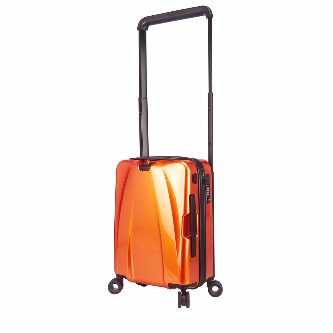 Hontus CASO DUO 20 Inches Hardside Spinner Carry-On Luggage Glossy Orange