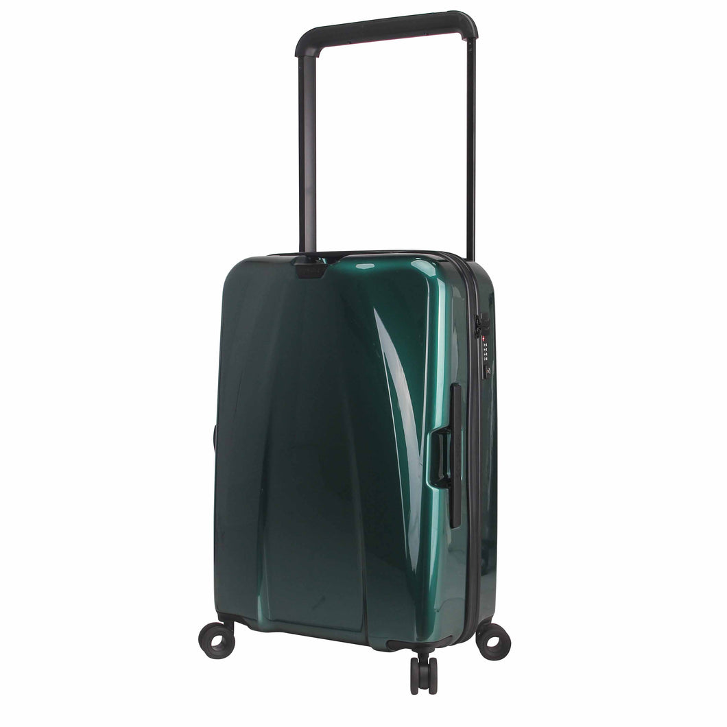 Hontus CASO DUO 24 Inches Hardside Spinner Luggage Glossy Green