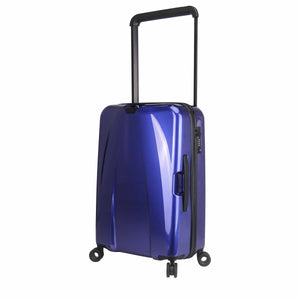 Hontus CASO DUO 24 Inches Hardside Spinner Luggage Glossy Blue