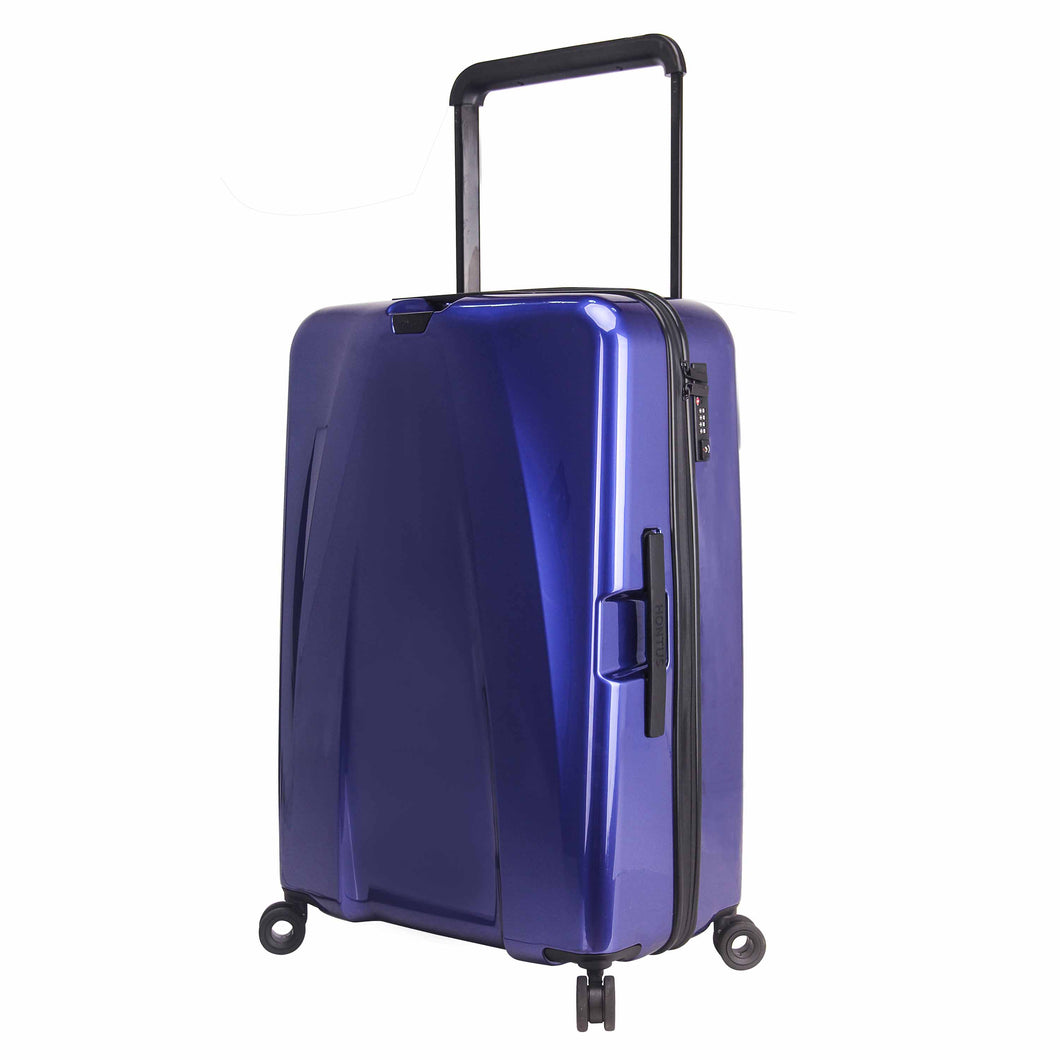 Hontus CASO DUO 28 Inches Hardside Spinner Luggage Glossy Blue