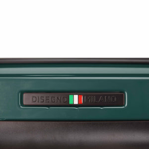 Hontus CASO DUO 28 Inches Hardside Spinner Luggage Glossy Green