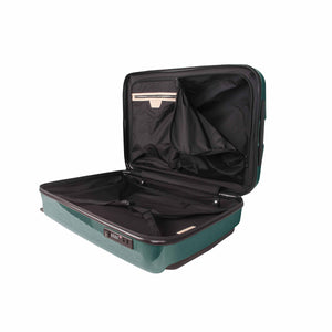 Hontus CASO DUO 20 Inches Hardside Spinner Carry-On Luggage Glossy Green