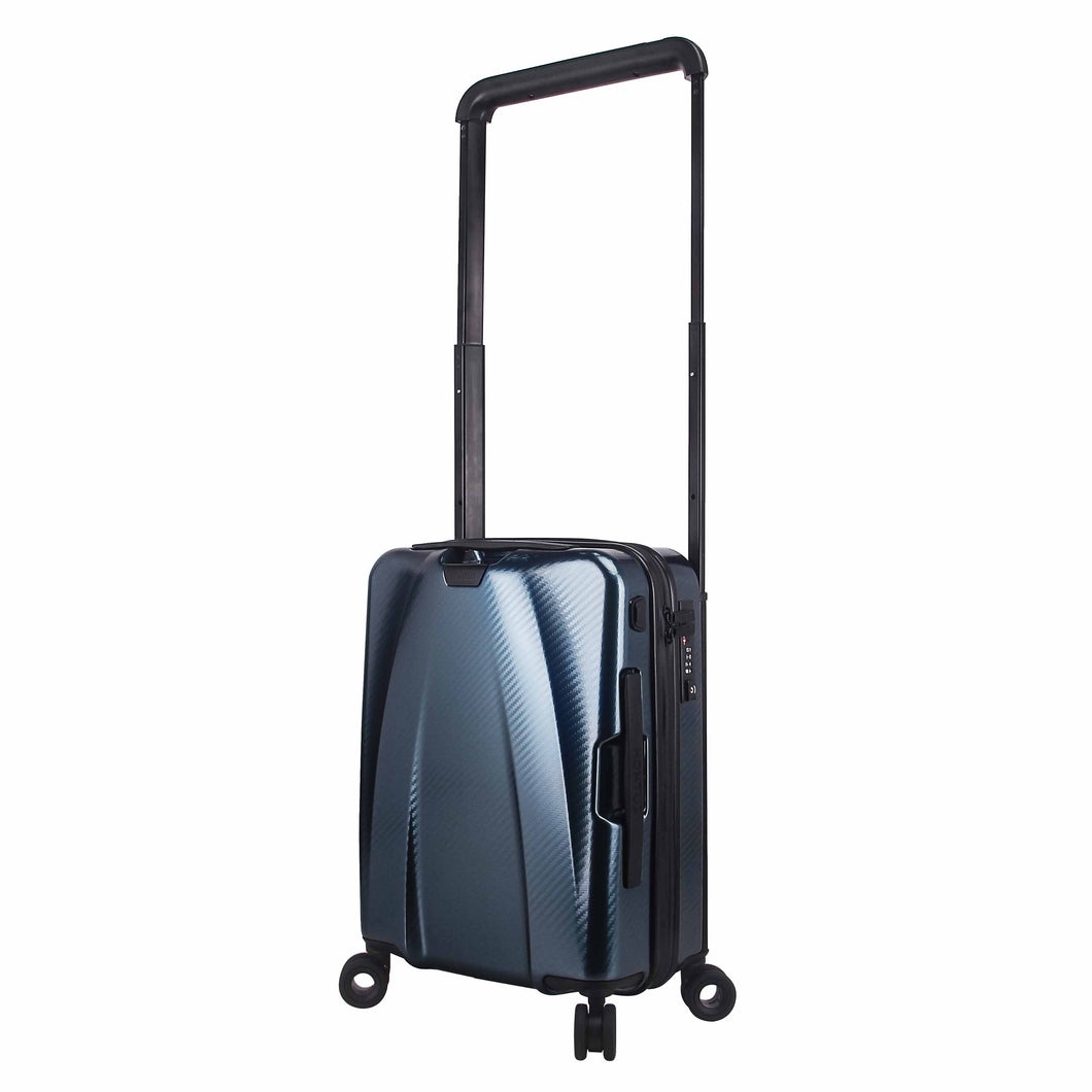 Hontus CASO TRE 20 Inches Hardside Spinner Carry-On Luggage Carbon Teal