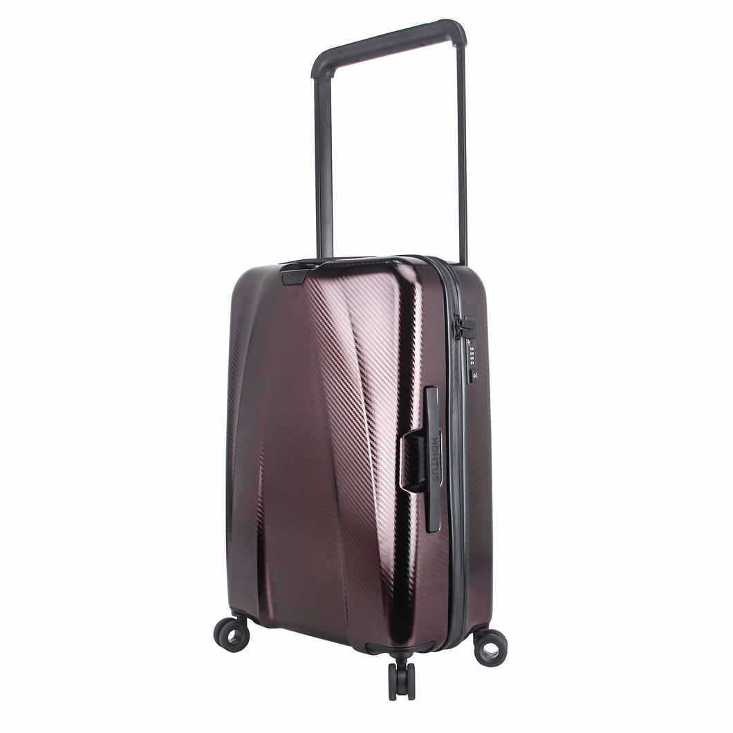 Hontus CASO TRE 24 Inches Hardside Spinner Luggage Carbon Brown