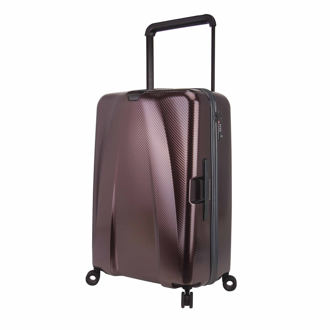 Hontus CASO TRE 28 Inches Hardside Spinner Luggage Carbon Brown