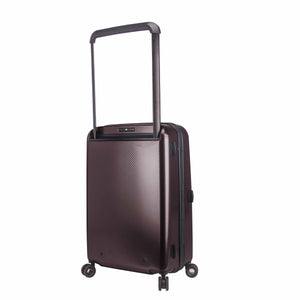 Hontus CASO TRE 20 Inches Hardside Spinner Carry-On Luggage Carbon Brown