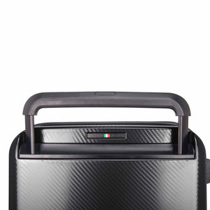 Hontus CASO TRE 24 Inches Hardside Spinner Luggage Carbon Black